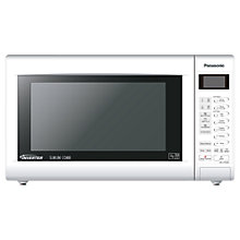Buy Panasonic NN-CT552W Slimline Combination Microwave, White Online at johnlewis.com