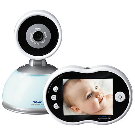 Buy Tomy Digital Video Plus TDV450 Baby Monitor Online at johnlewis.com
