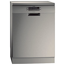 Buy AEG F77012M0P Dishwasher, Stainless Steel Online at johnlewis.com