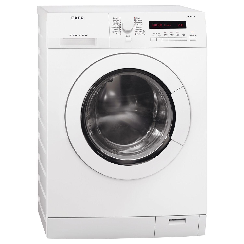 AEG L75480WD 8kg Wash 6kg Dry Freestanding Washer Dryer - White