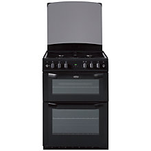 Buy Belling FSG60DOP Gas Cooker, Black Online at johnlewis.com