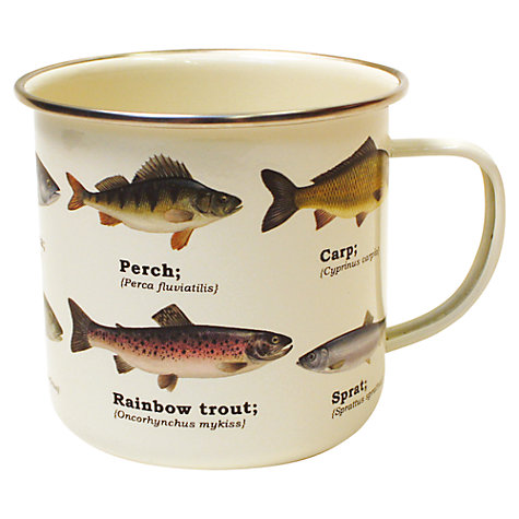 Buy Pisces Mutli Fish Enamel Mug Online at johnlewis.com
