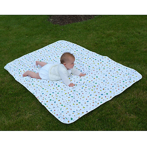 Buy Animal Print Playmat, White Online at johnlewis.com