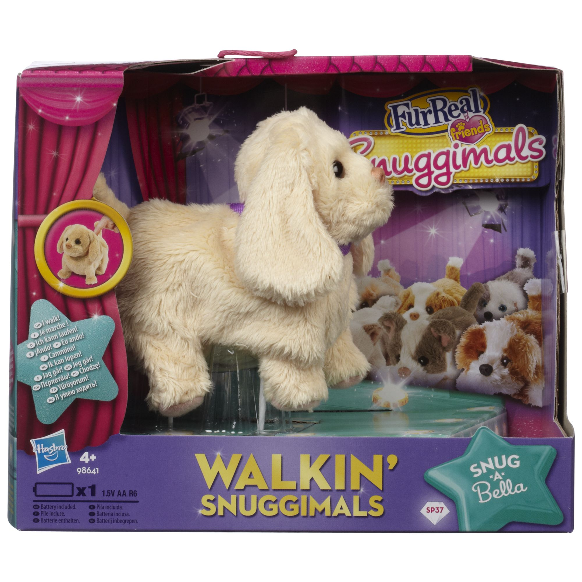 FurReal Walking Snuggimal Assorted