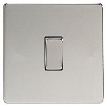 Buy Marlborough 1 Gang 2 Way Rocker Switch, Polished Chrome Online at johnlewis.com