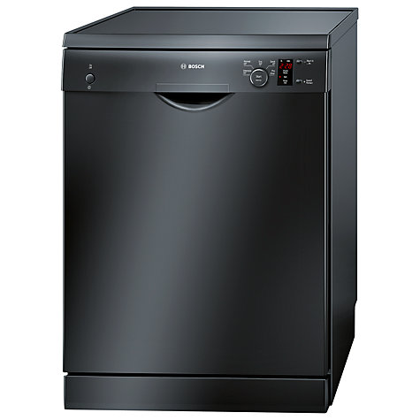 Buy Bosch SMS50T06GB Dishwasher, Black Online at johnlewis.com