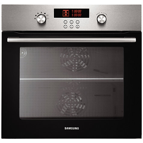 Buy Samsung BT621VDST Dual Cook Electric Single Oven, Stainless Steel Online at johnlewis.com