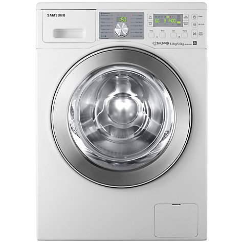 Buy Samsung WD0804W8E Washer Dryer, 8kg wash / 5kg dry load, 1400rpm Spin, White Online at johnlewis.com