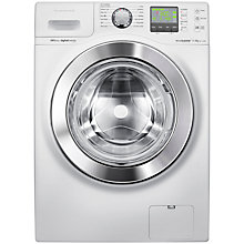 Buy Samsung WF1114XBD ecobubble™ VRT Washing Machine, 11kg Load, A+++ Energy Rating, 1400rpm Spin, White Online at johnlewis.com