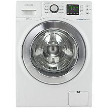 Buy Samsung WF906U4SAWQ ecobubble™ Washing Machine, 9kg Load, A+++ Energy Rating, 1400rpm Spin, White Online at johnlewis.com