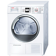 Buy Bosch WTW86561GB Sensor Condenser Tumble Dryer, 7kg Load, A Energy Rating, White Online at johnlewis.com