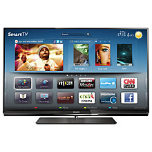 Buy Philips 42PFL6007T/12 LED HD 1080p 3D Smart TV, 42 Inch with Freeview HD & 4x 3D Glasses Online at johnlewis.com