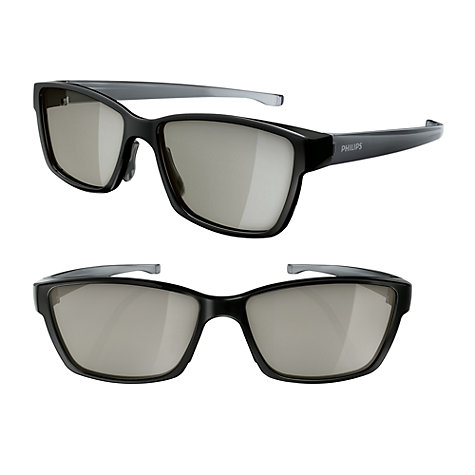 Buy Philips PTA417 Passive 3D Glasses, 2 Pairs Online at johnlewis.com