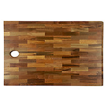 Buy Provenance Long Grain Chopping Board Online at johnlewis.com
