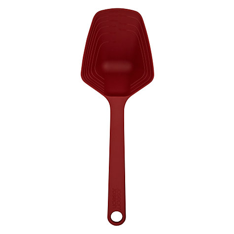 Buy Joseph Joseph Measurement Scoop, Red Online at johnlewis.com