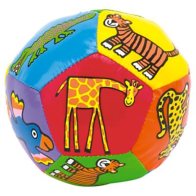 Jellycat Jungly Tails Boing Ball, Multi