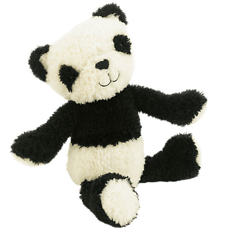Buy Jellycat Vintage Panda Toy, Black/White Online at johnlewis.com