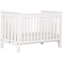 Buy Boori Pioneer Cotbed, White Online at johnlewis.com