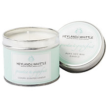Buy Heyland & Whittle Green Tea and Grapefruit Candle Tin Online at johnlewis.com