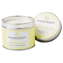 Buy Heyland & Whittle Lemongrass Candle Tin Online at johnlewis.com
