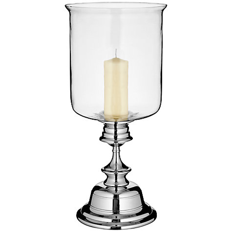 Buy John Lewis Stepped Hurricane Lamp, Medium Online at johnlewis.com