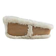 Buy UGG Shearling Sheepskin Classic Hairband, Brown Online at johnlewis.com