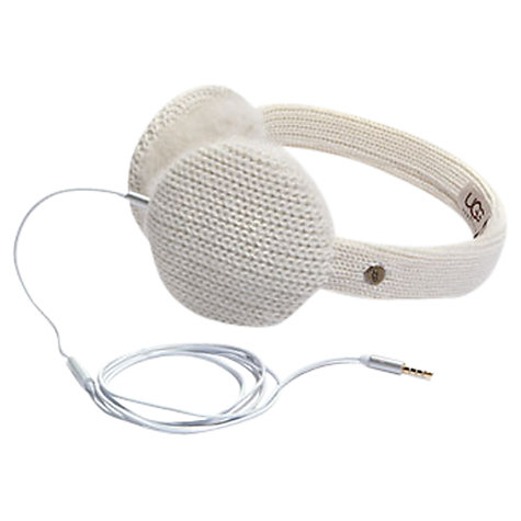 Buy UGG Wool Mix Shearling Tech Headphone Earmuffs Online at johnlewis.com