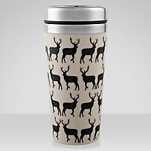 Buy Anorak Kissing Stags Travel Mug Online at johnlewis.com