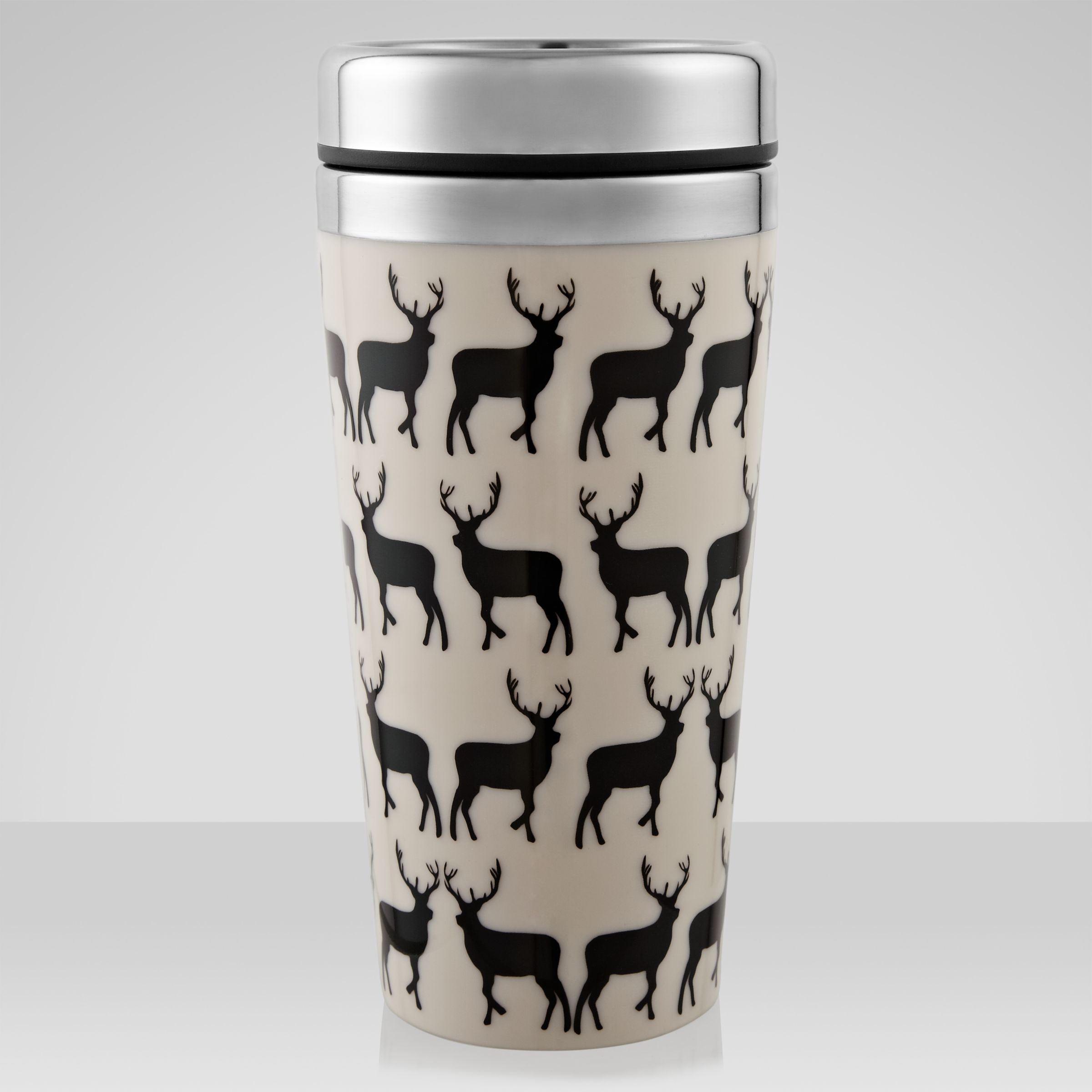 Anorak Kissing Stags Travel Mug