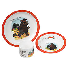 Buy Gruffalo Melamine Dinner Set, 3 Piece Online at johnlewis.com