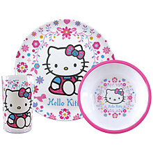 Buy Hello Kitty Folksy Dinner Set Online at johnlewis.com