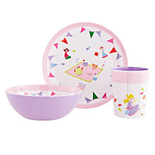 Buy little home at John Lewis Fairy Dinner Set Online at johnlewis.com