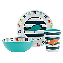 Buy little home at John Lewis Walk The Plank Dinner Set Online at johnlewis.com