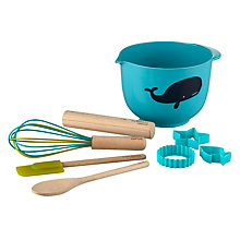Buy little home at John Lewis Walk The Plank Baking Set, 8 pieces Online at johnlewis.com
