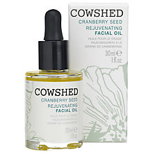 Buy Cowshed Cranberry Seed Rejuvenating Facial Oil, 30ml Online at johnlewis.com