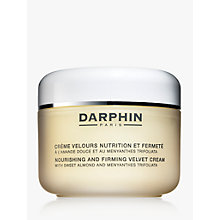 Buy Darphin Nourishing and Firming Velvet Cream, 200ml Online at johnlewis.com