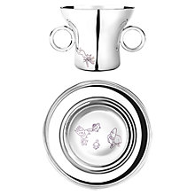 Buy Georg Jensen Kids Alfredo Cup and Plate Online at johnlewis.com
