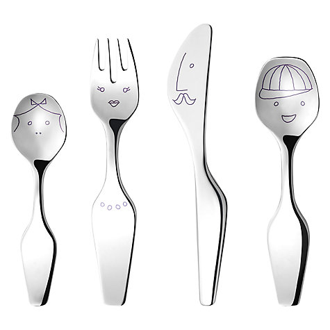 Buy Georg Jensen Kids Alfredo Cutlery Online at johnlewis.com