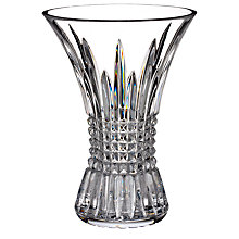 Buy Waterford Crystal Lismore Diamond 60th Anniversary Vase, H20cm Online at johnlewis.com