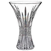 Buy Waterford Crystal Lismore Diamond 60th Anniversary FlaredVase, H35cm Online at johnlewis.com