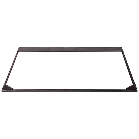 Buy Osco Full Demy Faux Leather Desk Mat, Brown Online at johnlewis.com
