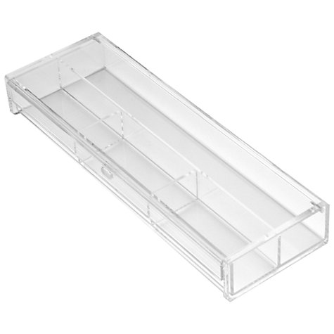 Buy Osco Acrylic Pencil Box, Clear Online at johnlewis.com