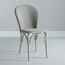 Buy Lloyd Loom of Spalding Bistro Chair, Arctic Grey Online at johnlewis.com