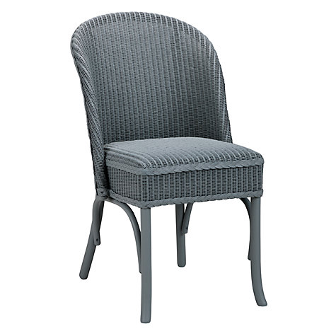Buy Lloyd Loom of Spalding Newmarket Chair, Duck Egg Online at johnlewis.com