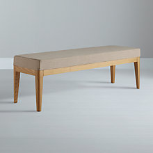 Buy John Lewis Lydia Bench, Fawn Online at johnlewis.com