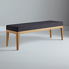 Buy John Lewis Lydia Bench, Steel Online at johnlewis.com