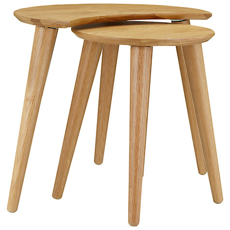 Buy John Lewis Revival Nest of 2 Tables Online at johnlewis.com