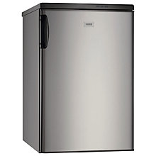 Buy Zanussi ZRG716CX Larder Fridge, A+ Energy Rating, 55cm Wide, Stainless Steel Online at johnlewis.com