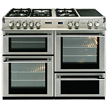 Buy Leisure RCMT102FRXP Dual Fuel Range Cooker, Stainless Steel Online at johnlewis.com