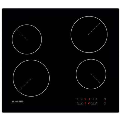 Buy Samsung C61R2AEE Ceramic Hob, Black Online at johnlewis.com